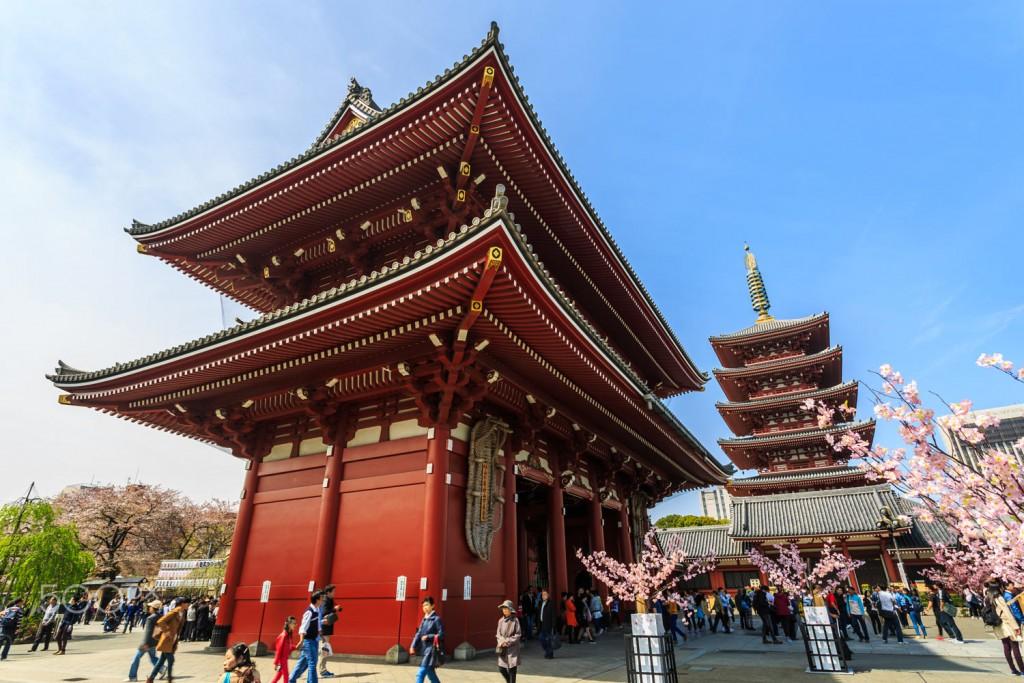 Asakusa Kannon Temple.