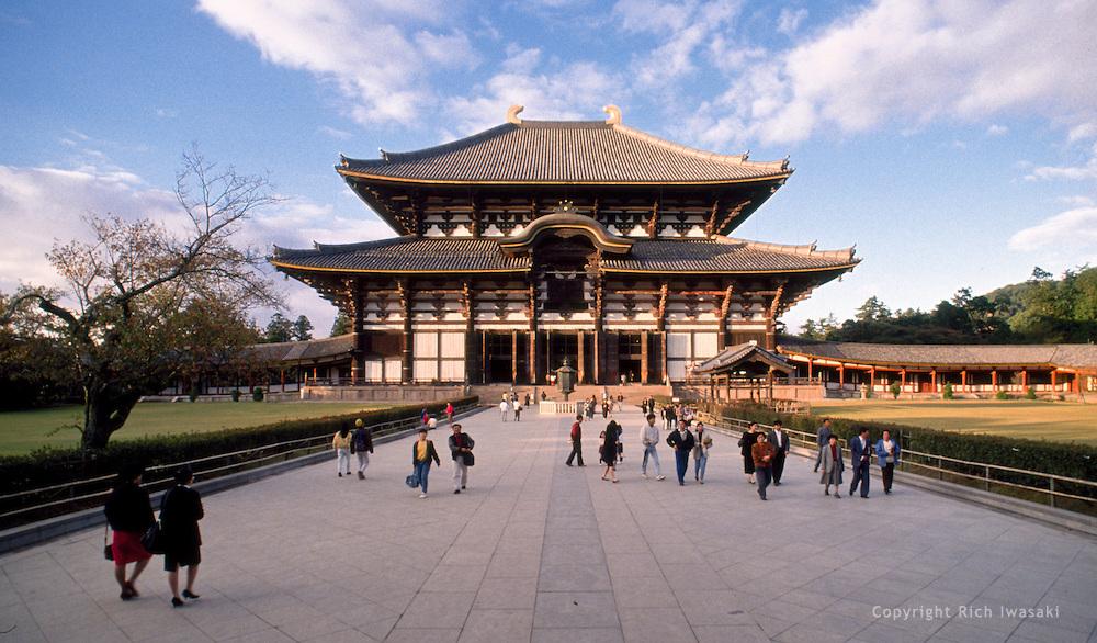 Todaiji temple Japan